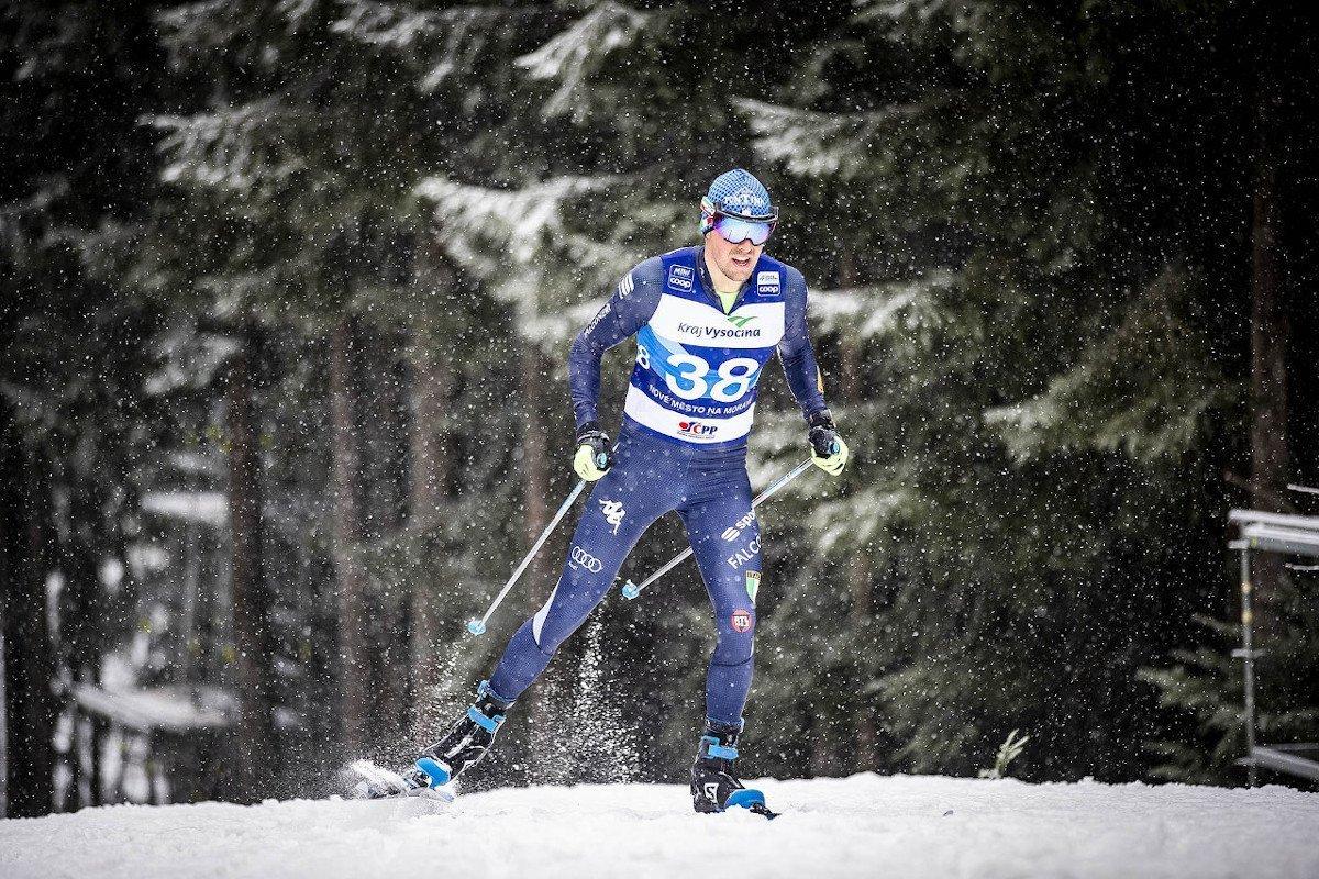Francesco De Fabiani decimo nella prova ad inseguimento a tecnica classica di Coppa del Mondo di sci nordico a Nove Mesto