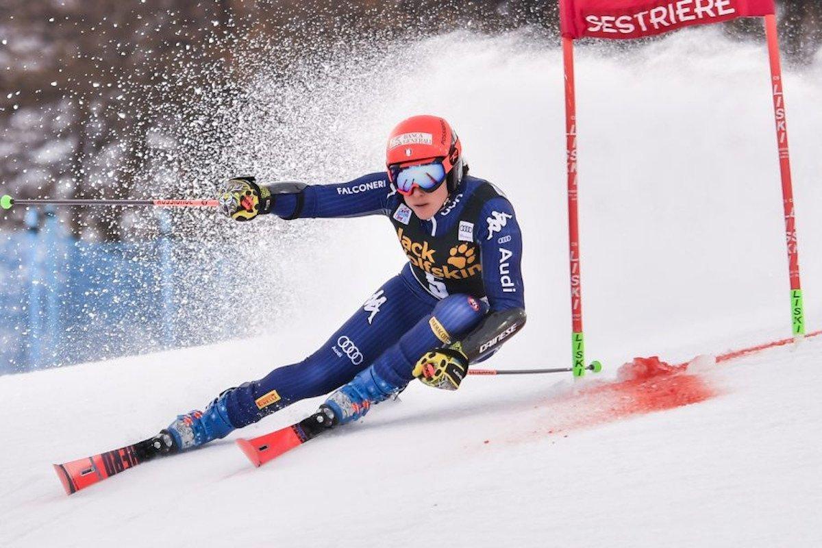 Federica Brignone quarta nella discesa di Coppa del Mondo di sci alpino di Crans Montana, dove ha vinto di nuovo Lara Gut-Behrami