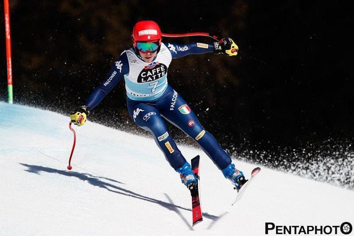 Federica Brignone vince la combinata alpina di Crans Montana e balza in testa alla classifica generale di Coppa del Mondo di sci alpino