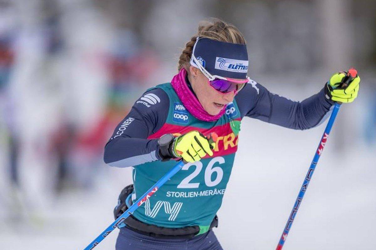 In Norvegia, nella 34 km di sci nordico del Fis Ski Tour, Elisa Brocard arriva 13esima mentre Francesco De Fabiani è 22esimo