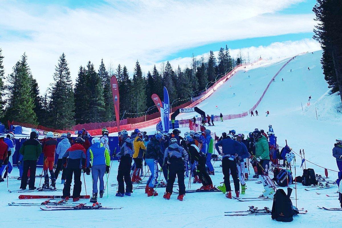 """Enrico Voyat grande protagonista a Cortina d'Ampezzo nella """"Fis Master Cup"""" con due vittorie in tre gare"""