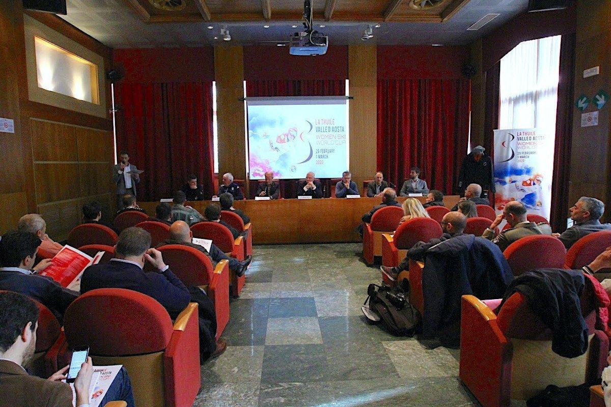 Presentato l'appuntamento valdostano della Coppa del mondo di sci alpino, a La Thuile sabato 29 febbraio e domenica 1° marzo