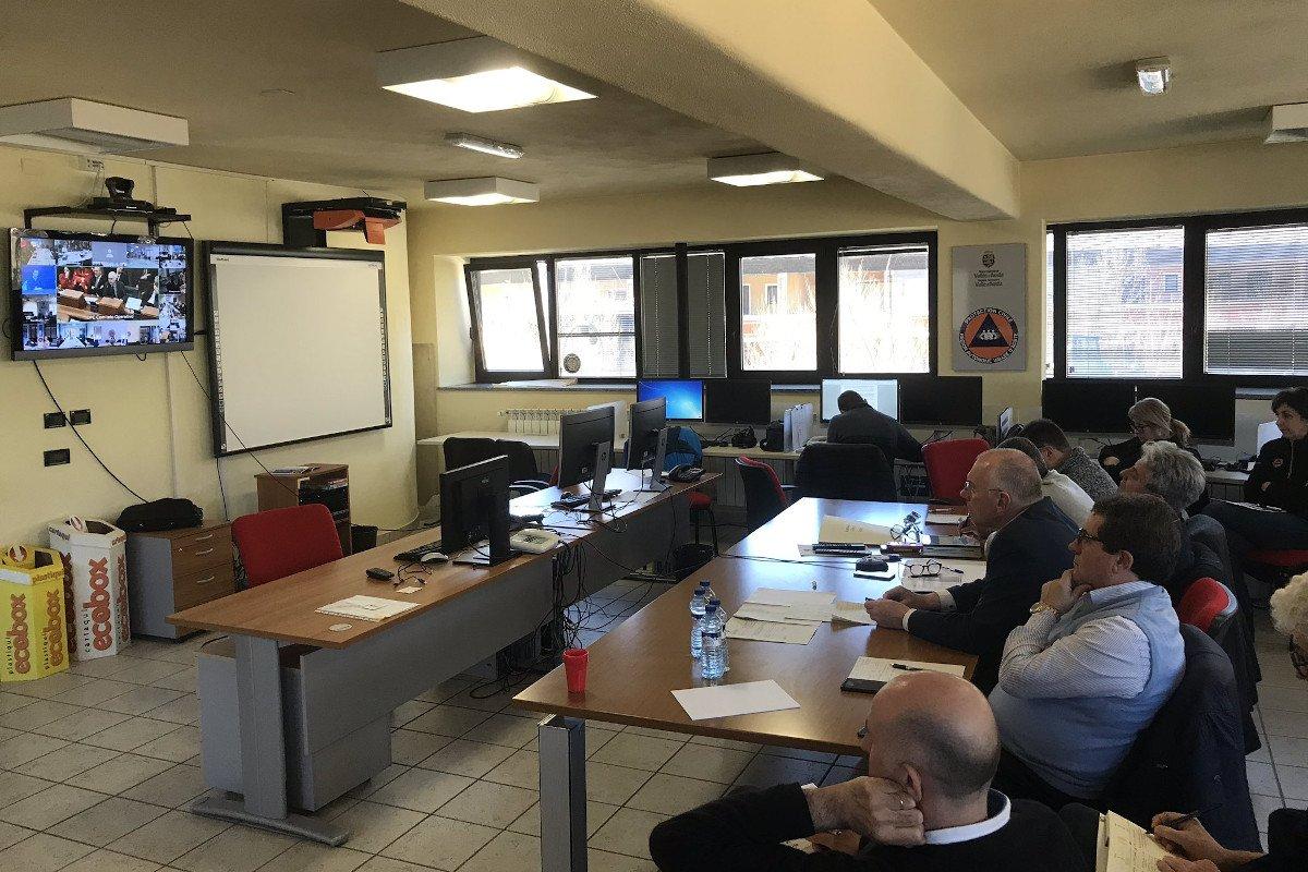 """Anche la Valle d'Aosta ha partecipato alla videoconferenza nazionale per l'emergenza """"coronavirus"""". Chi è a rischio non deve andare in Pronto Soccorso"""