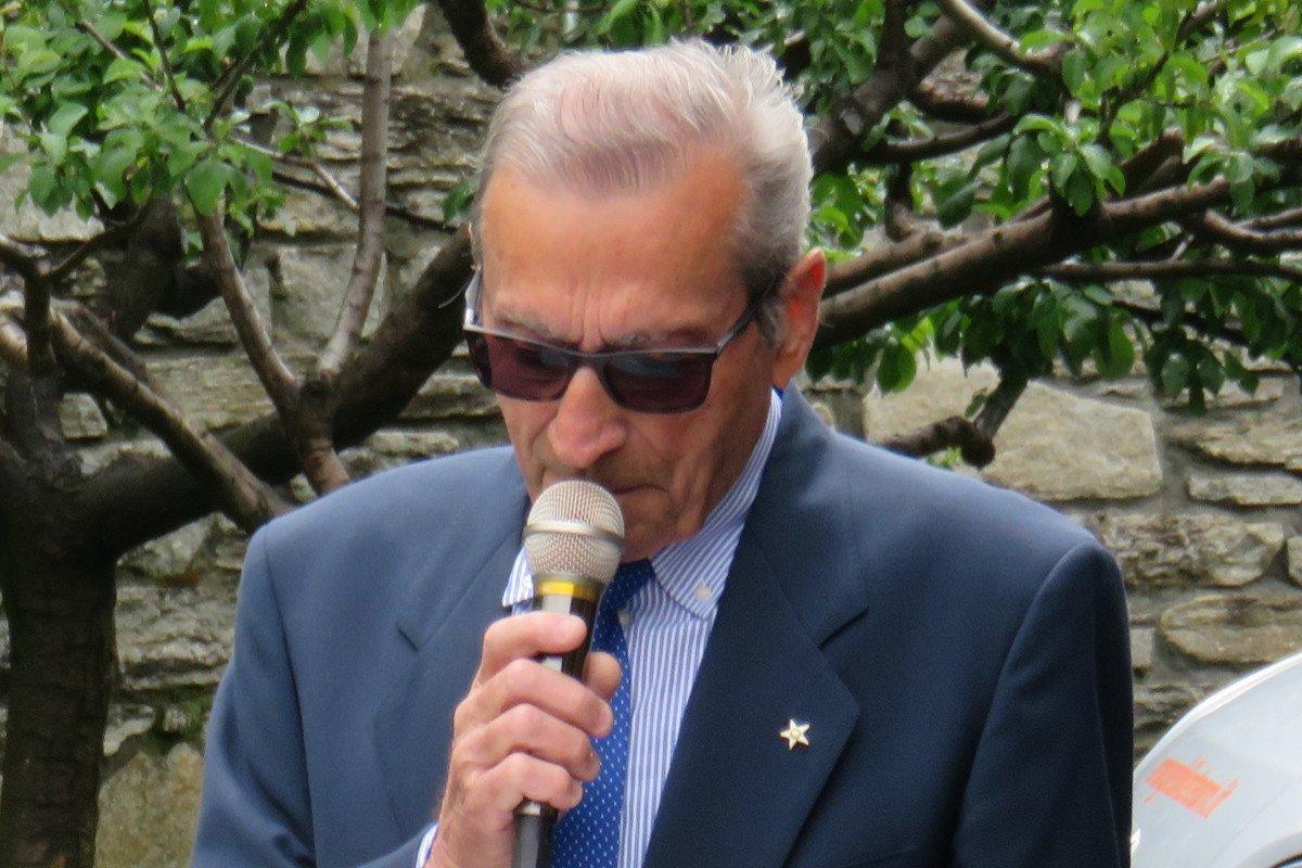 Gianfranco Trevisan, presidente della 'Fondazione Ollignan'