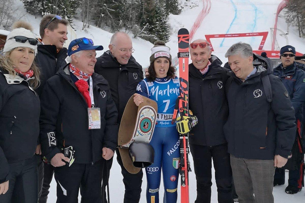 L'Amministrazione regionale ringrazia il comitato organizzatore della gara di Coppa del Mondo di La Thuile e Federica Brignone