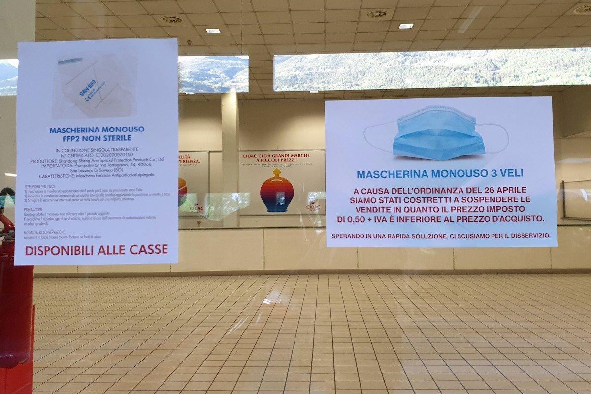 """Polemica per la sospensione, alla """"Cidac"""", della vendita delle mascherine chirurgiche: «nessuna speculazione, ne abbiamo donate 70mila»"""