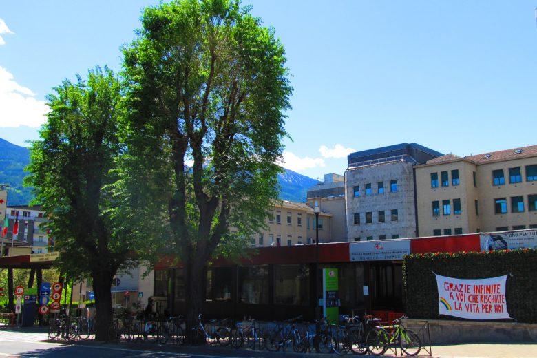 L'ospedale 'Parini' di Aosta