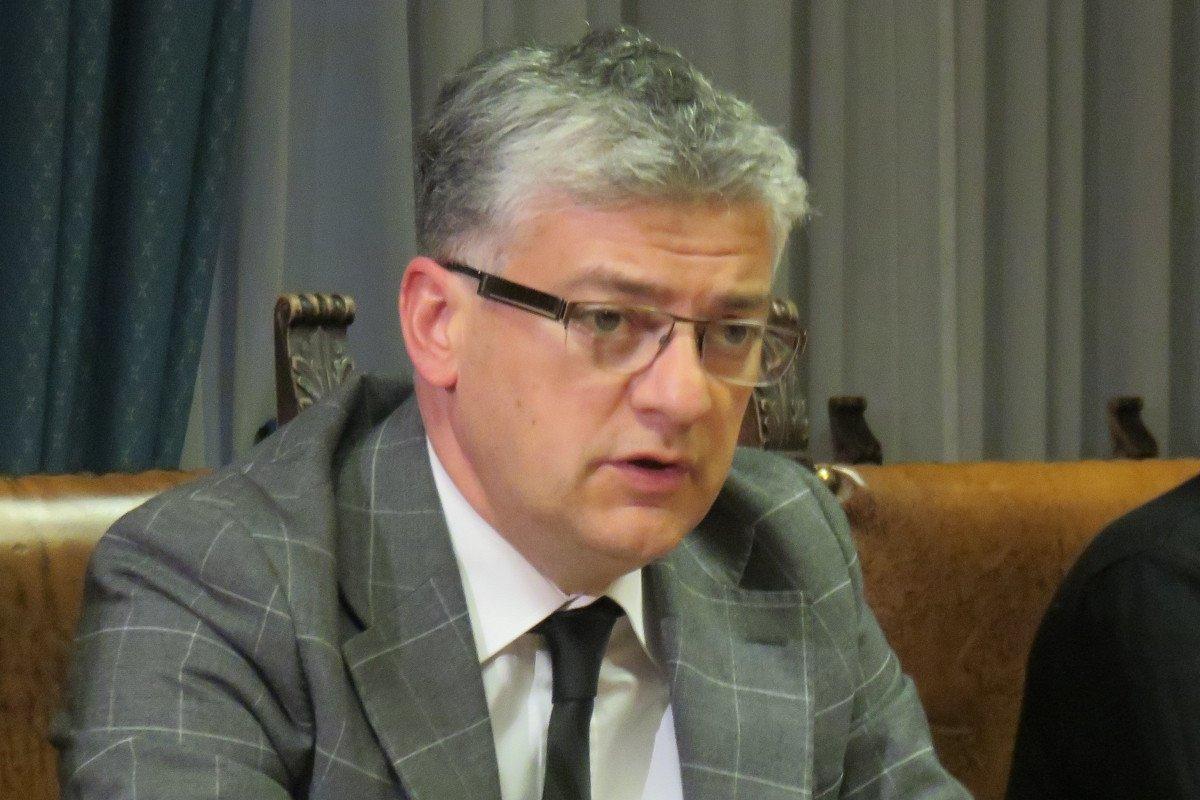 Luigi Bertschy, assessore regionale alle politiche del lavoro