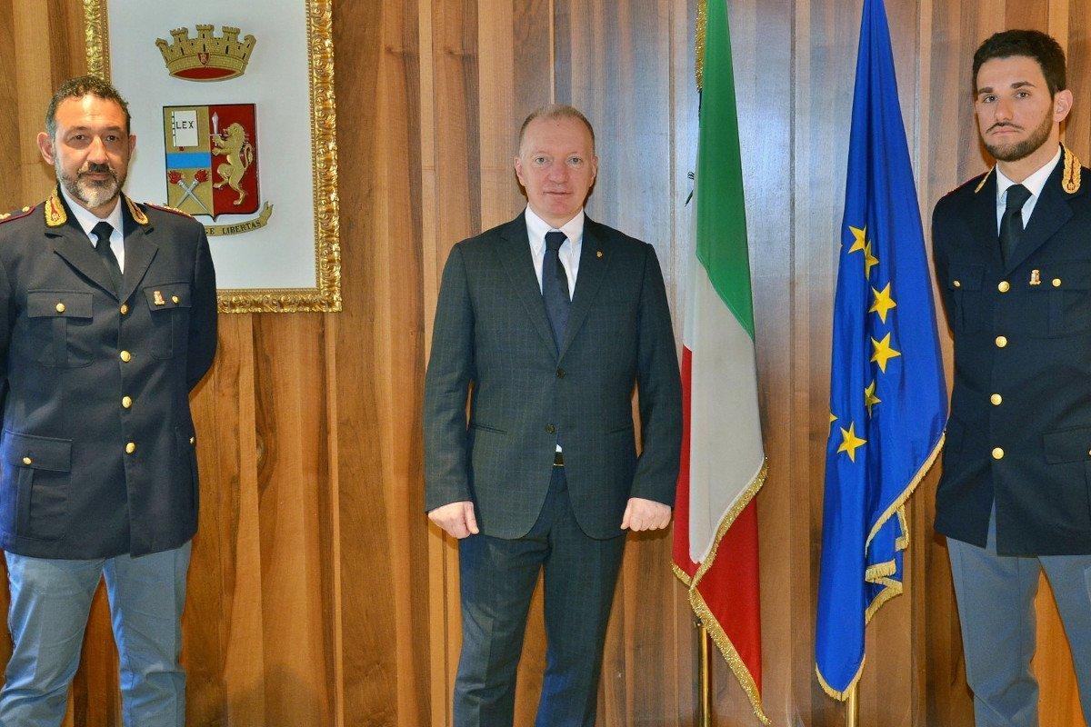 Torna ad Aosta Lorenzo Mesiano, alla guida dell'Anticrimine. Trasferimento per Eleonora Cognigni, capo della Mobile, che va a Pesaro
