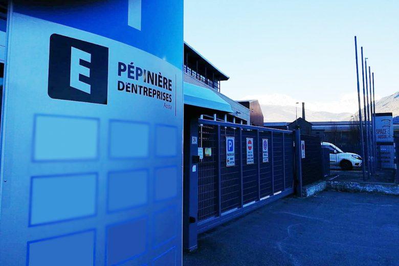 L'ingresso della 'Pépinière d'Entreprises'