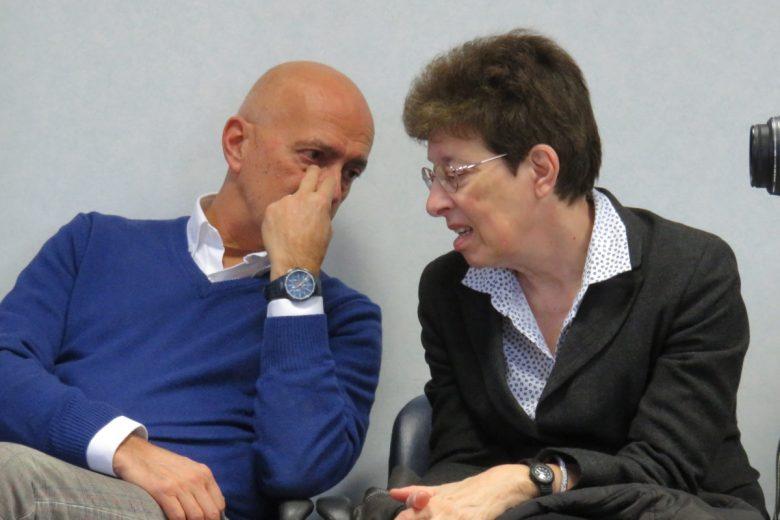 Giorgio Galli, responsabile della comunicazione dell'Azienda Usl e Chiara Galotto, dirigente del presidio ospedaliero
