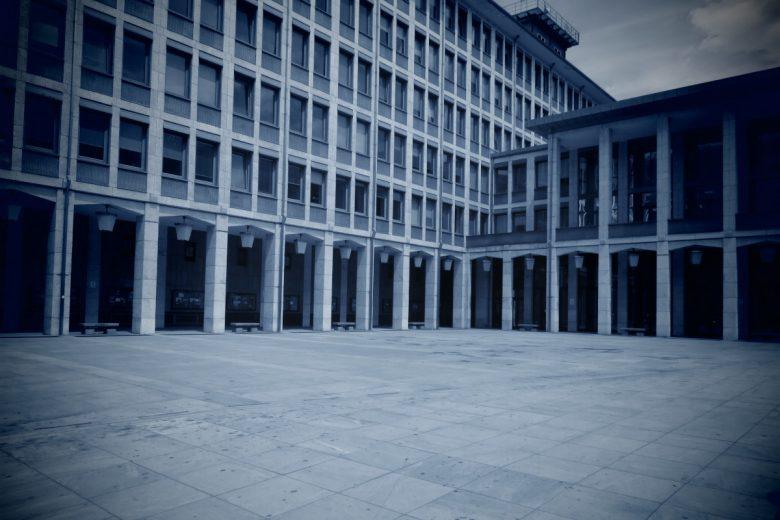 Il Palazzo della Regione, ad Aosta