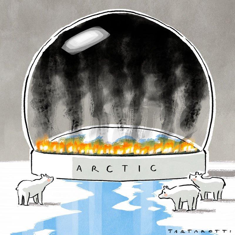 59 milioni di tonnellate di CO2 a causa degli incendi in Siberia