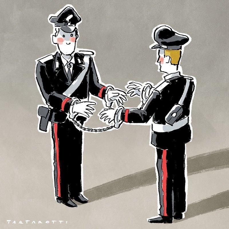 Dieci carabinieri sottoposti a misure cautelari