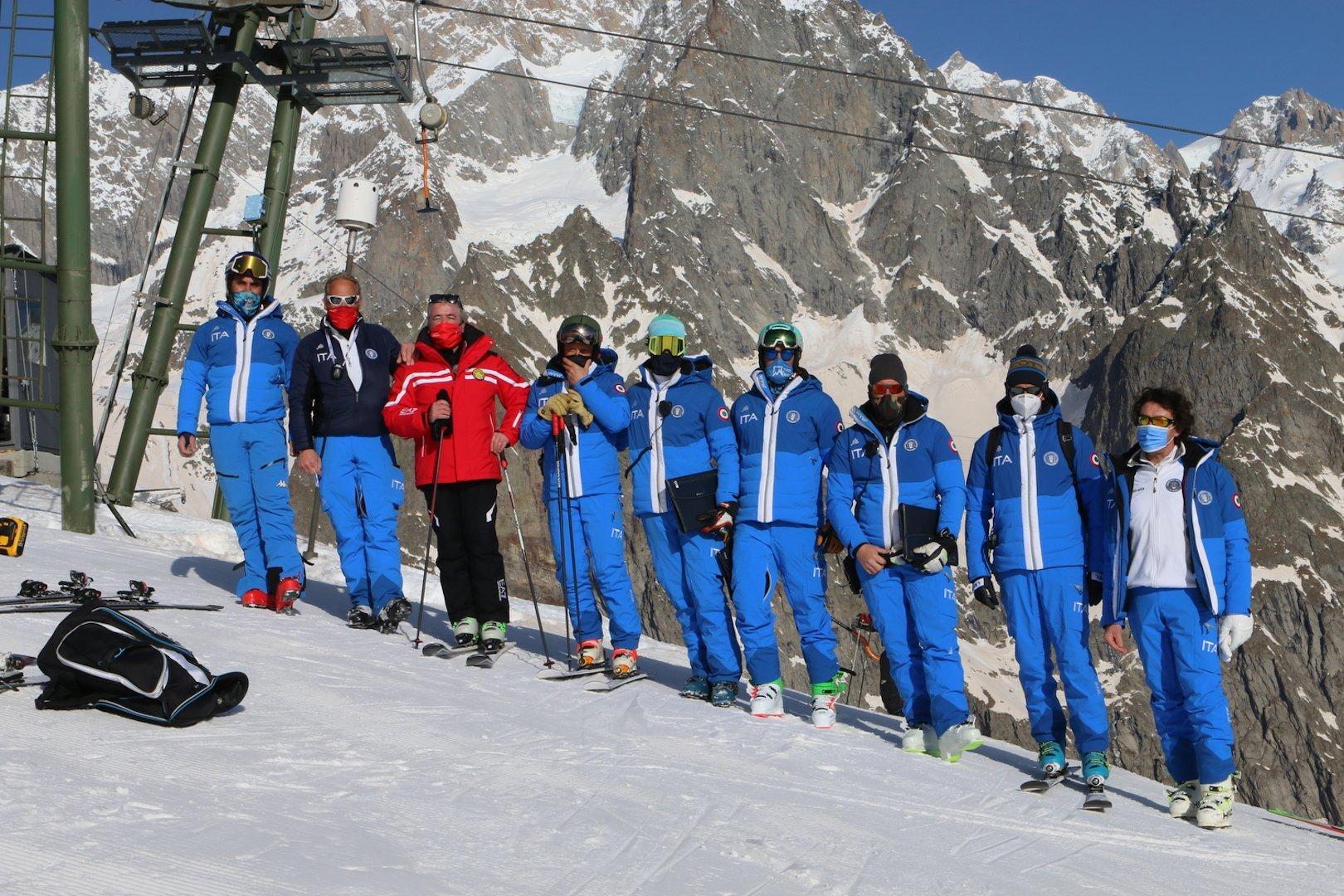 A Courmayeur 75 partecipanti alle selezioni per 29 neo aspiranti maestri di sci alpino
