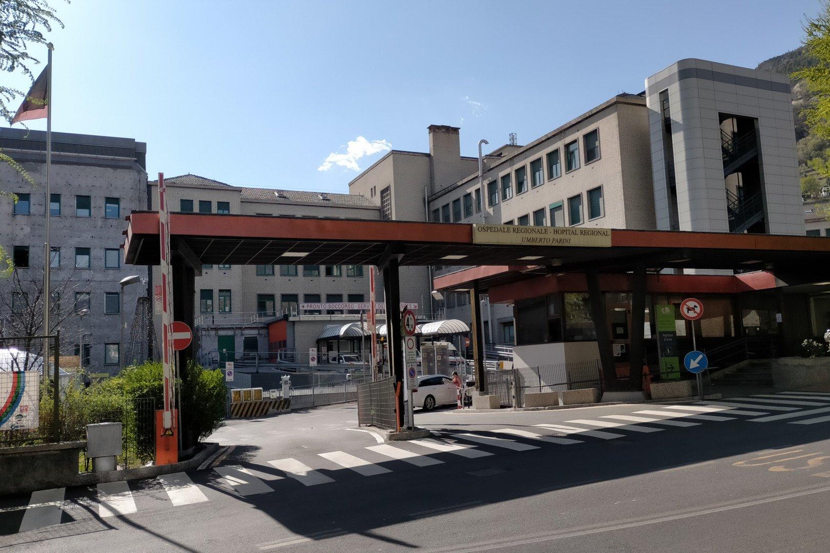 L'ospedale regionale 'Parini' di Aosta