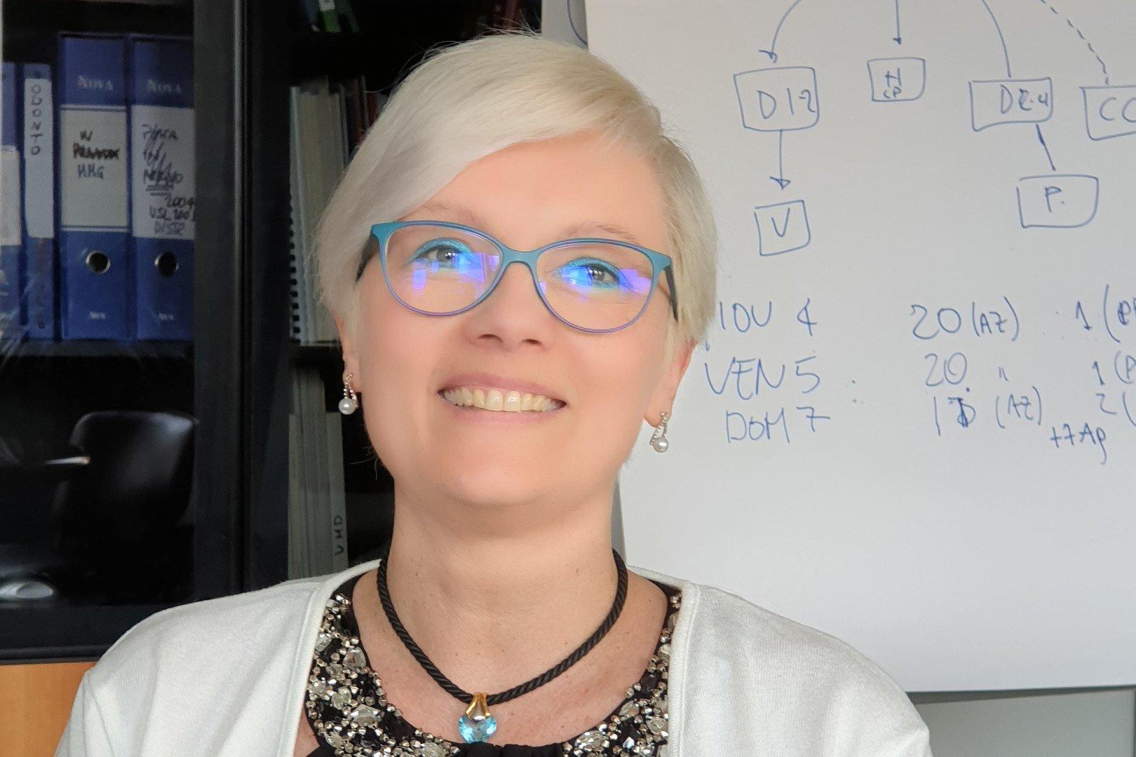 La dottoressa Francesca Faelli