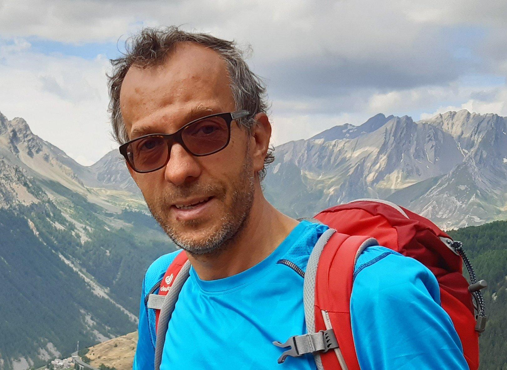 Corrado Jordan in montagna