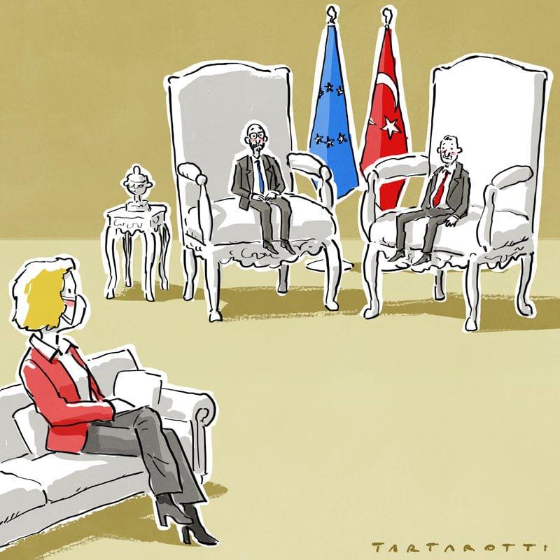 Lo sgarbo di Erdogan