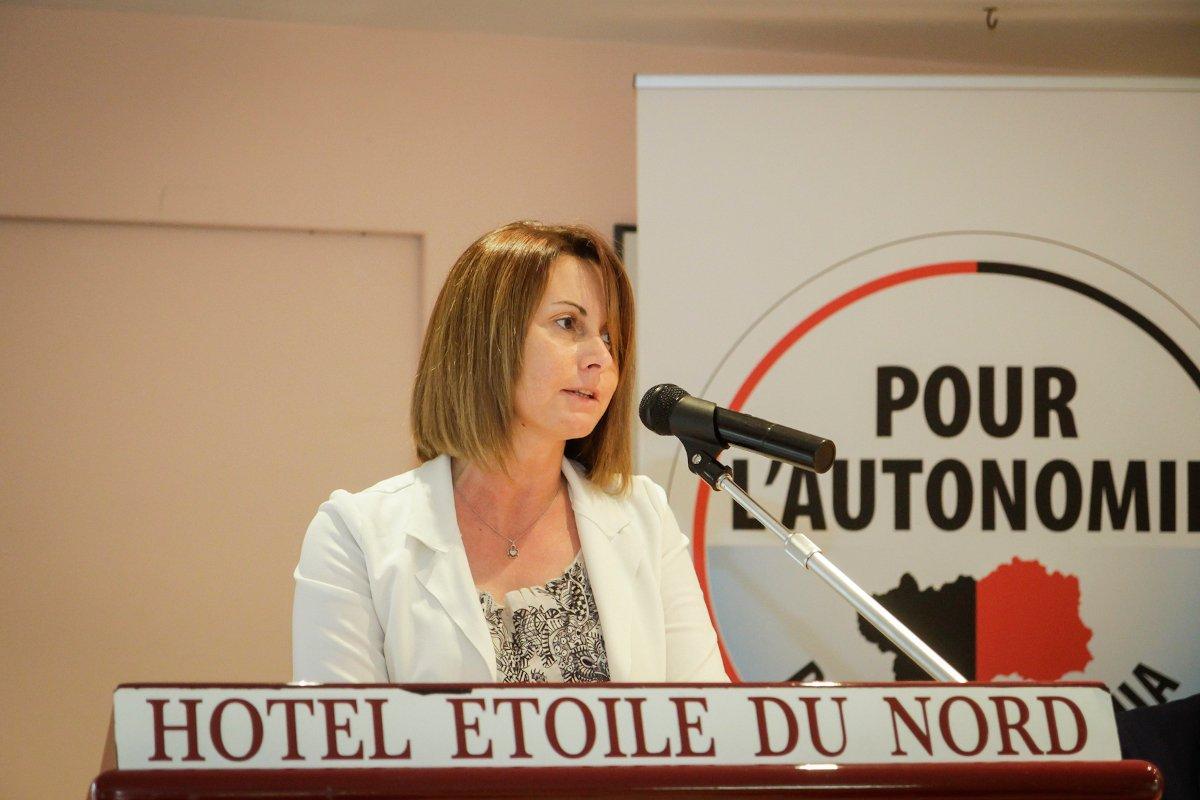 Stefania Anardi durante il suo intervento