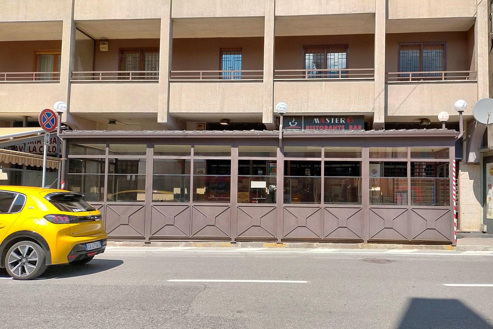 Il bar ristorante Master G di Aosta
