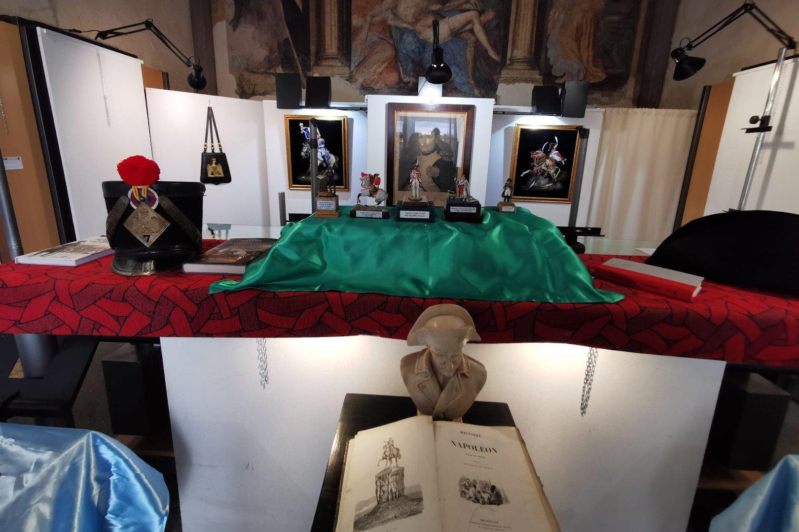 La storia di Napoleone Bonaparte rivive nei modellini di Alberto Ragni, in una mostra ad Aosta, a duecento anni dalla morte